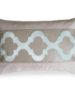 Pacific Blue CeeCee Linen Pillow