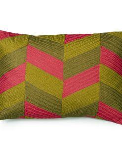 Lowery Metallic Linen Pillow