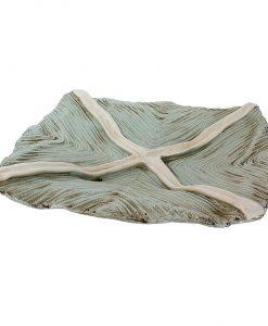 Moda Seafoam Ribbon Platter