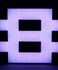 "Eight ""8"" Numeric Lighting"