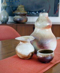 Michelle Dziak Button Vase in collection